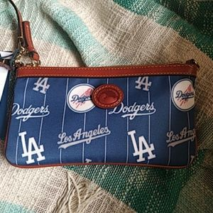 Dooney & Bourke Convertible Dodgers Wristlet